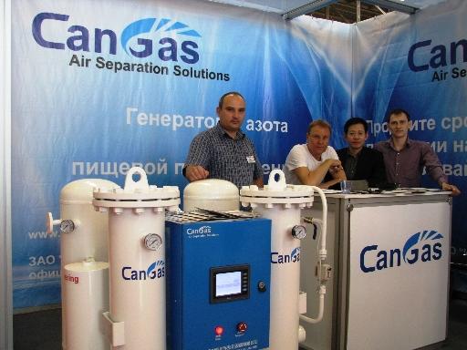 фото азотной установки can gas