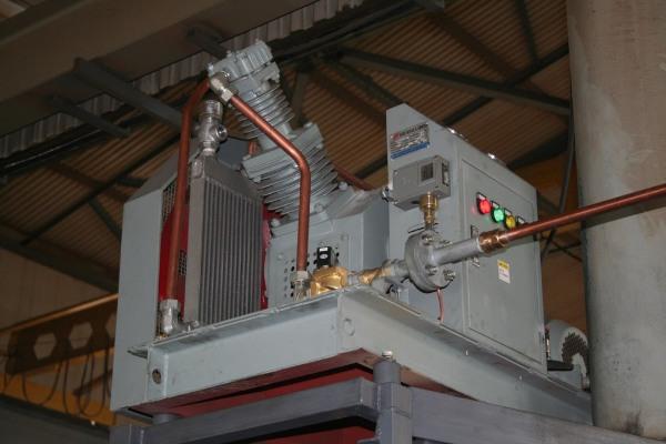 Дожимной компрессор для азотной установки
